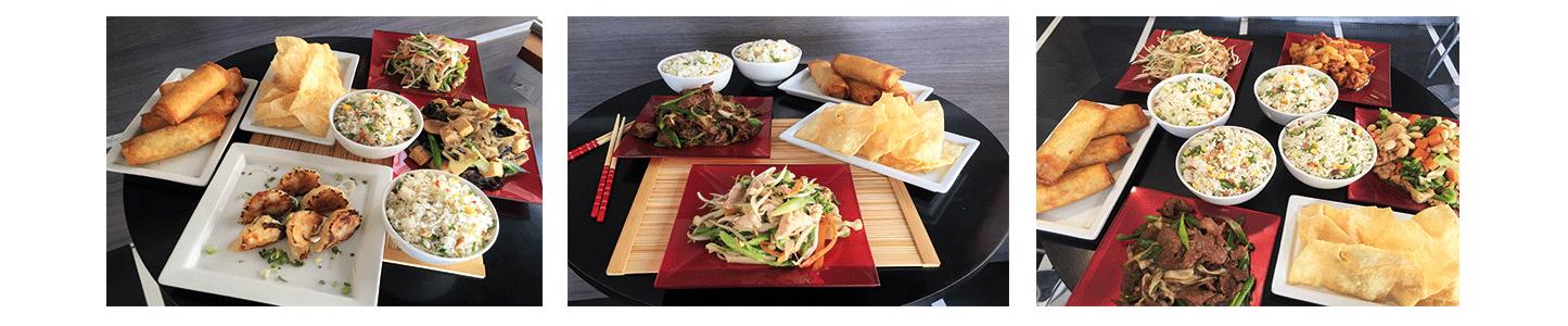 Menús comida china oferta